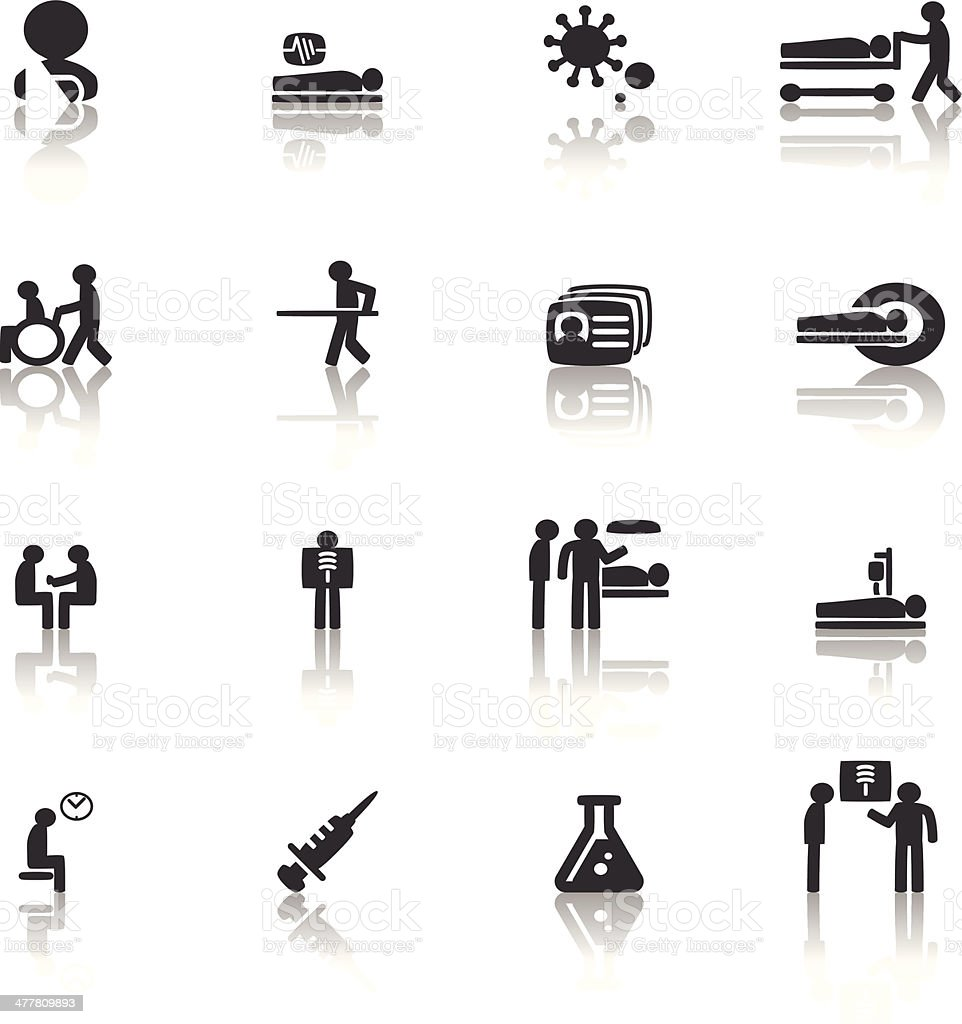 Patient Icon royalty-free stock vector art