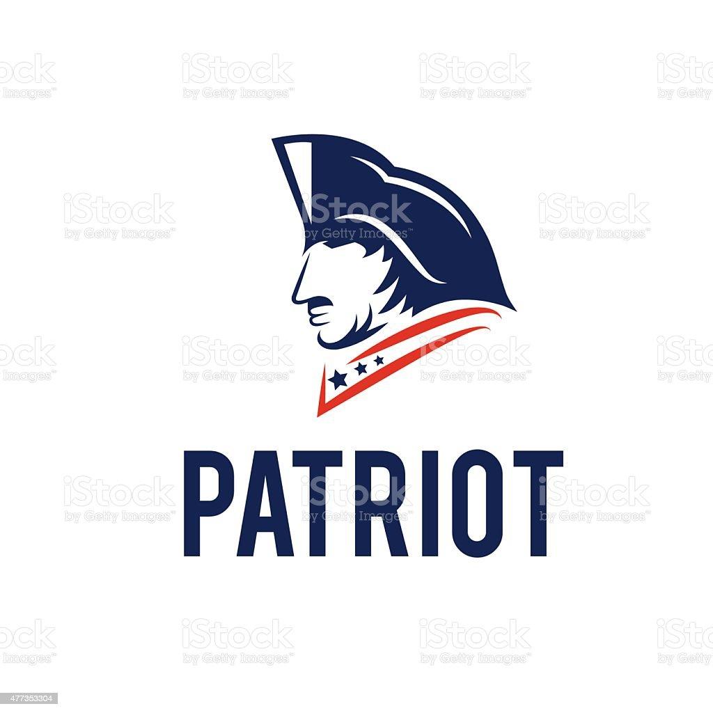 patriot vector design template vector art illustration