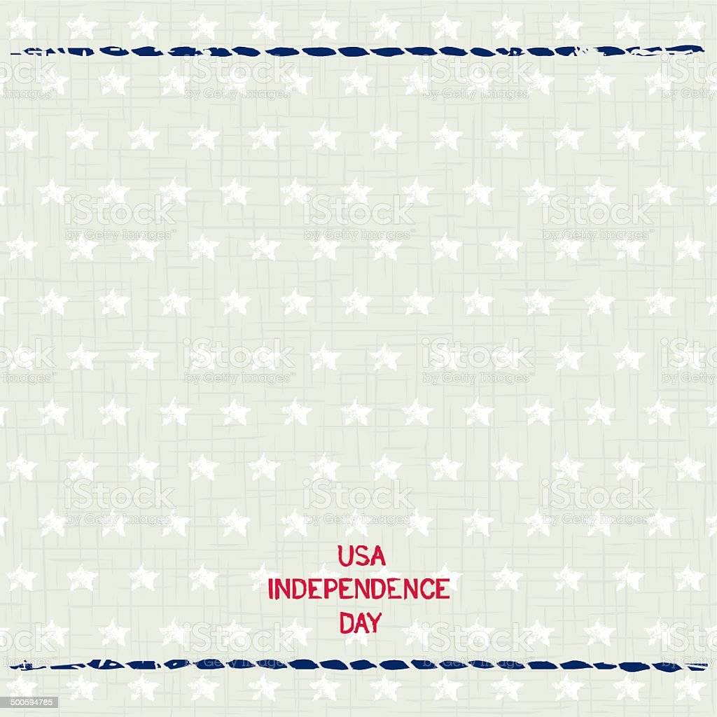 Patriotic  background USA Independence Day vector art illustration