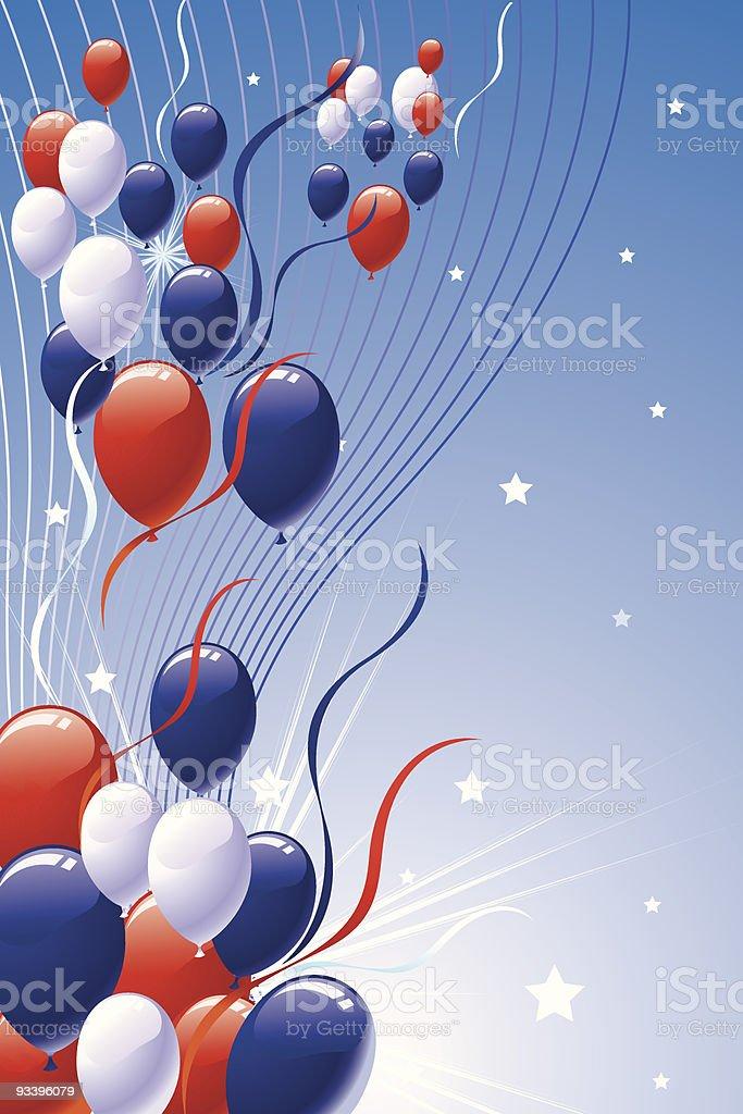 Patriotic Background royalty-free stock vector art