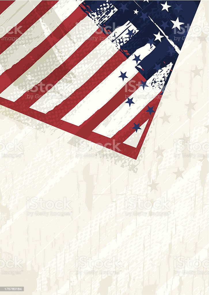 Patriotic fourth of July United States holiday background. royalty-free stock vector art