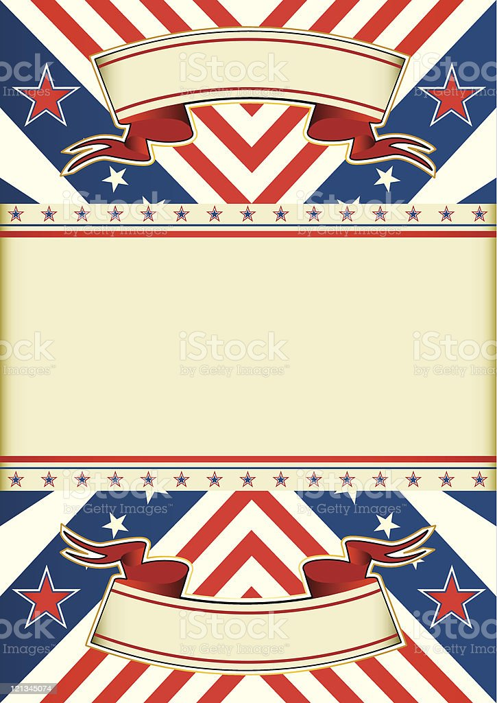 Patriotic leaflet royalty-free stock vector art