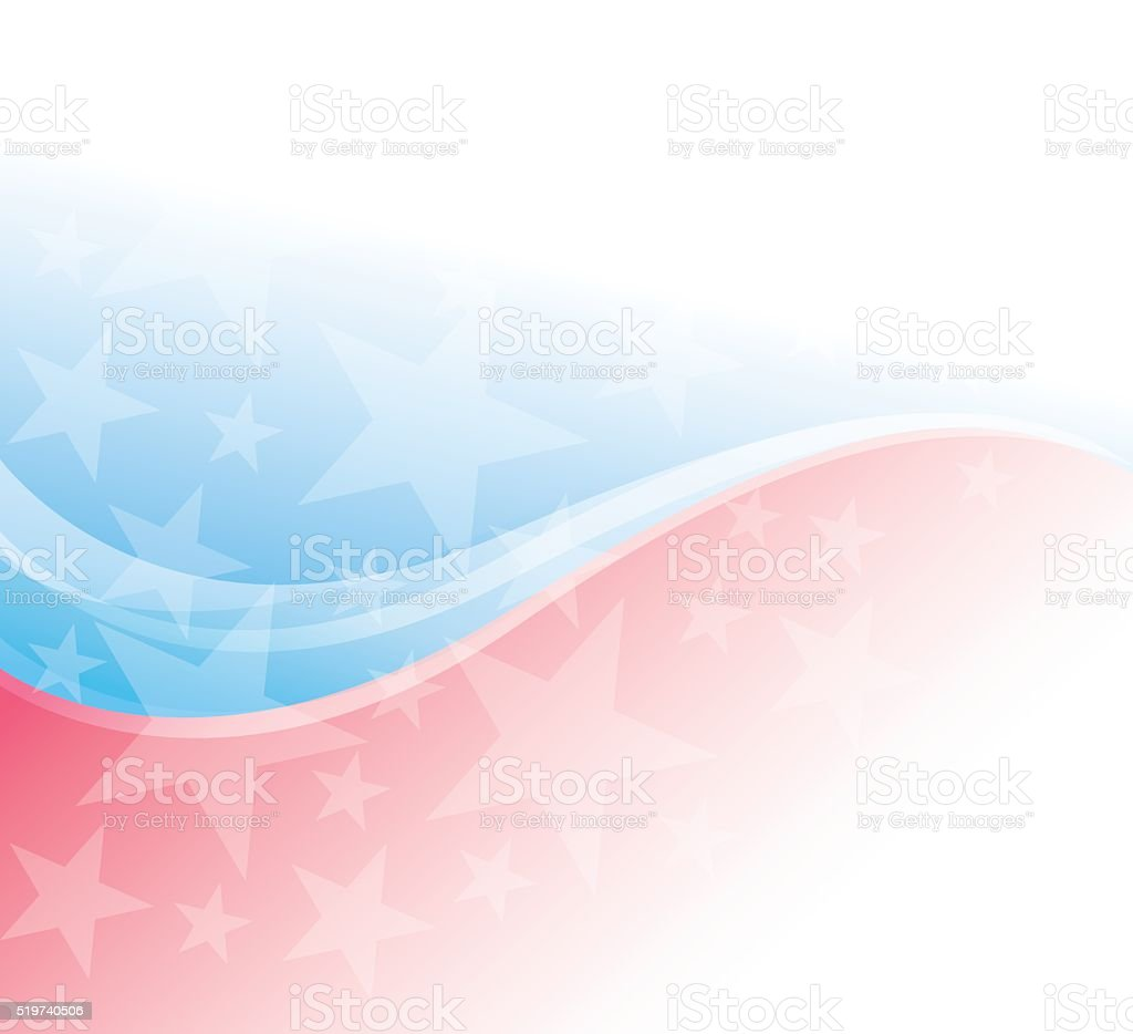Patriotism Background vector art illustration