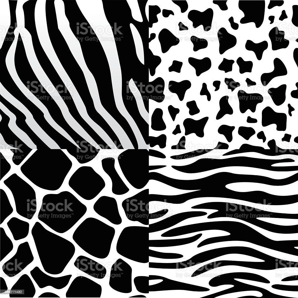 Pattern Collection vector art illustration