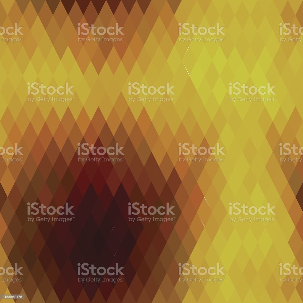 Pattern of geometric shapes, rhombic vector art illustration