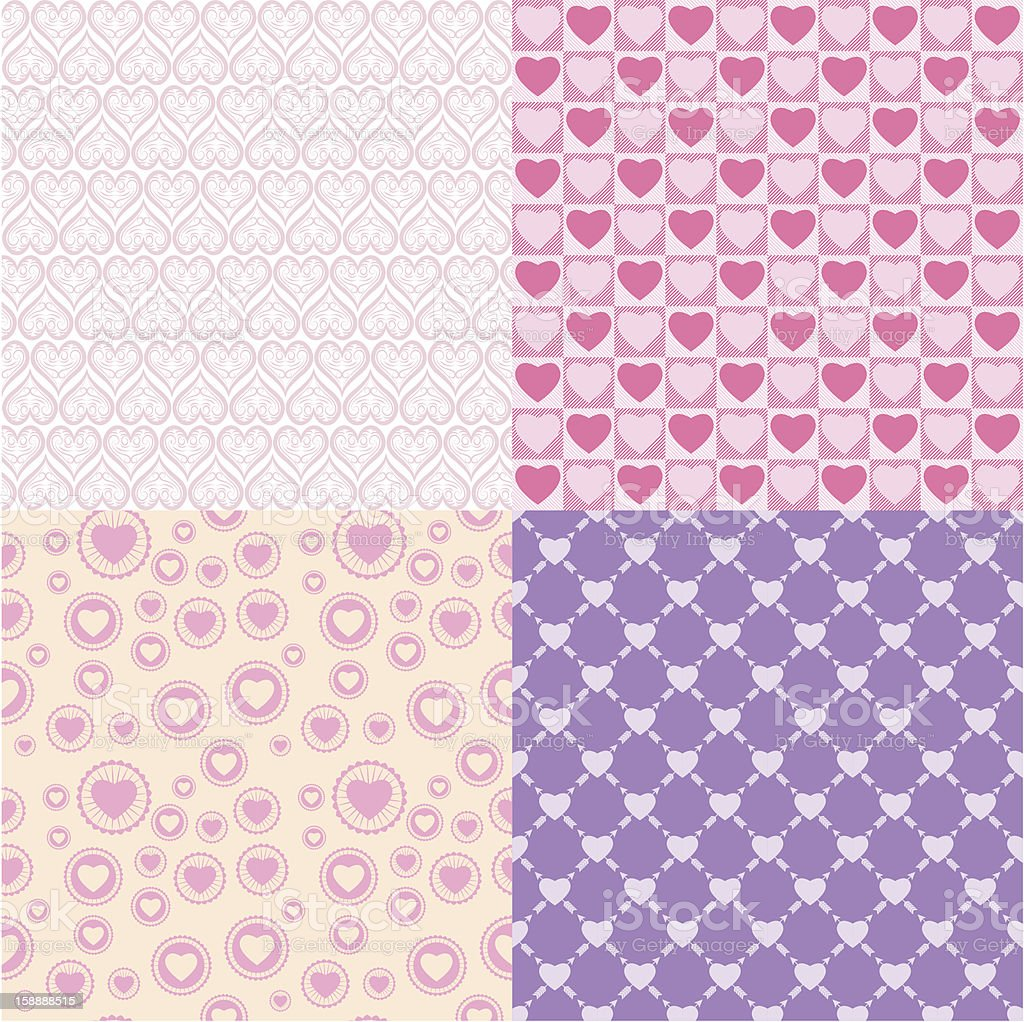 Pattern romantic royalty-free stock photo