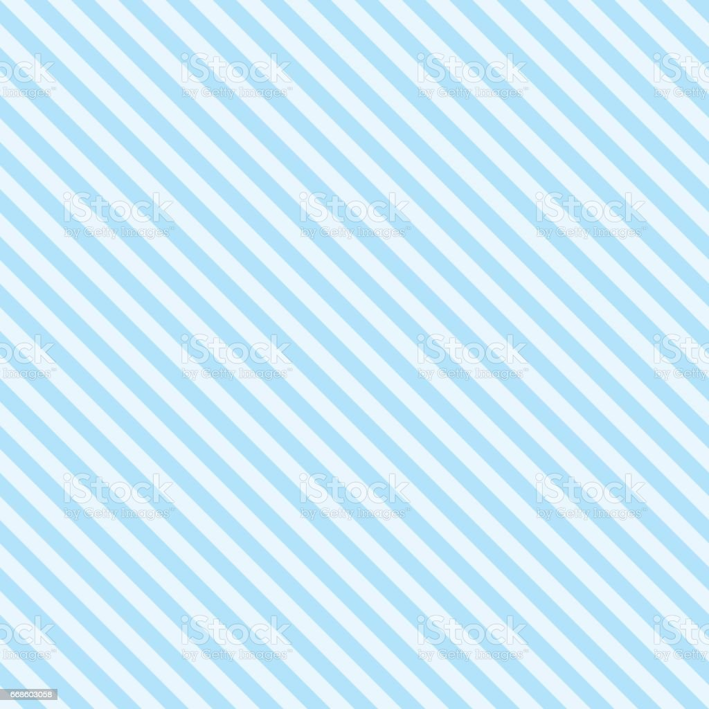 Pattern stripe seamless sweet blue two tone colors. Diagonal stripe abstract background vector. vector art illustration