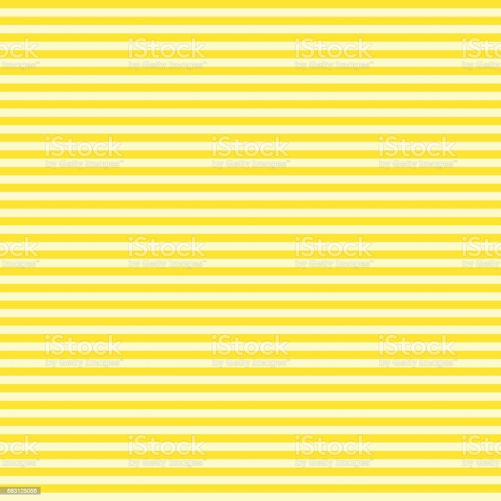 Pattern stripe seamless yellow two tone colors. Horizontal stripe abstract background vector. vector art illustration