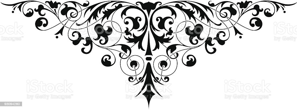 Pattern vector royalty-free stock vector art