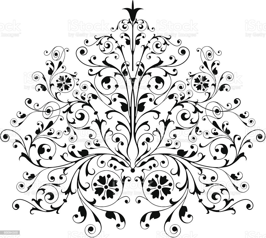 Pattern vector royalty-free stock vector art