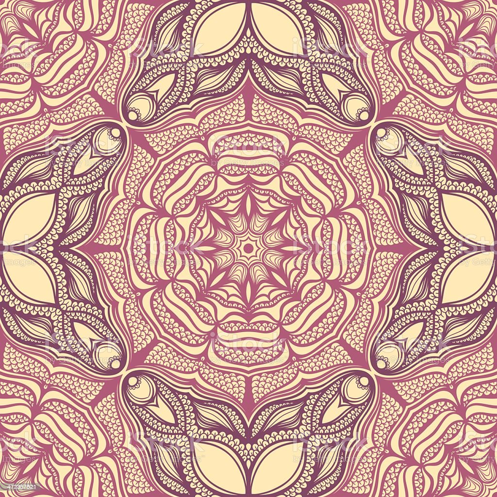 pattern with many petals royalty-free stock vector art