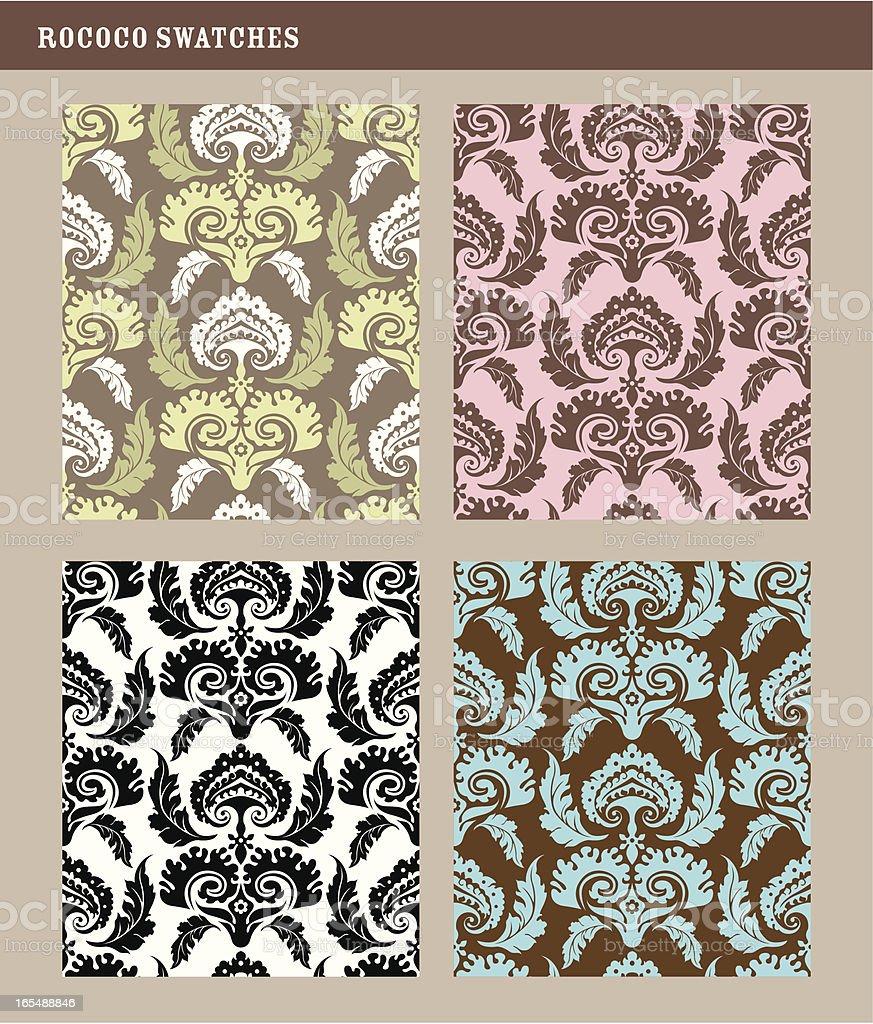 Patterns: elegance royalty-free stock vector art