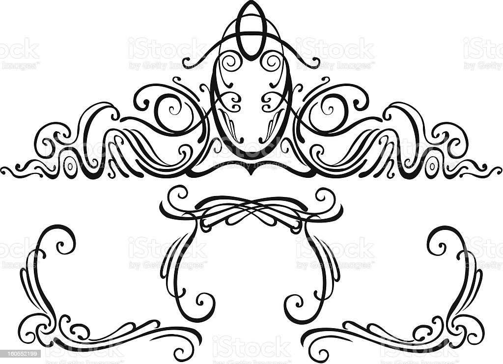 Patterns royalty-free stock vector art