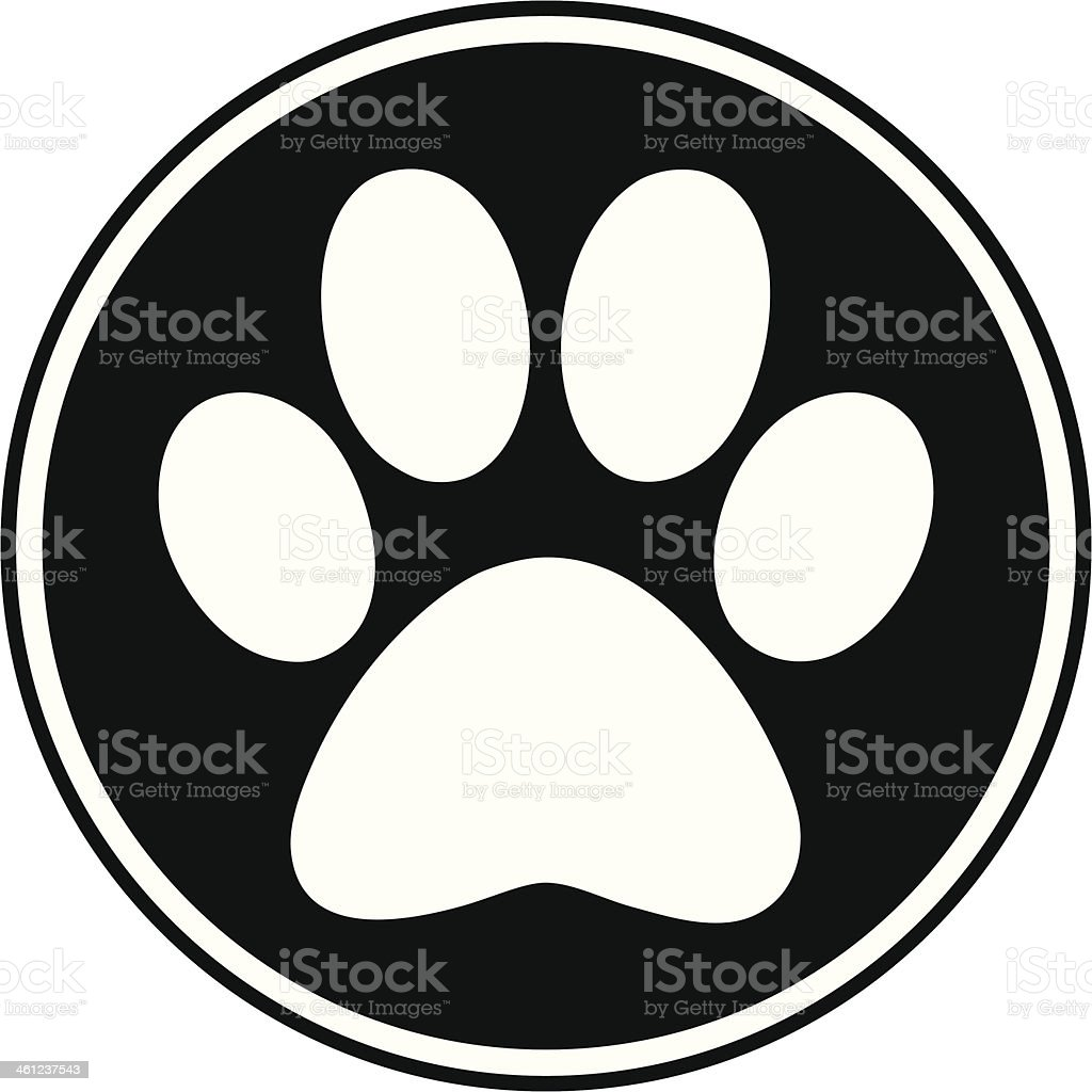 paw print clip art  vector images   illustrations istock cat and dog paw print vector dog paw print vector png
