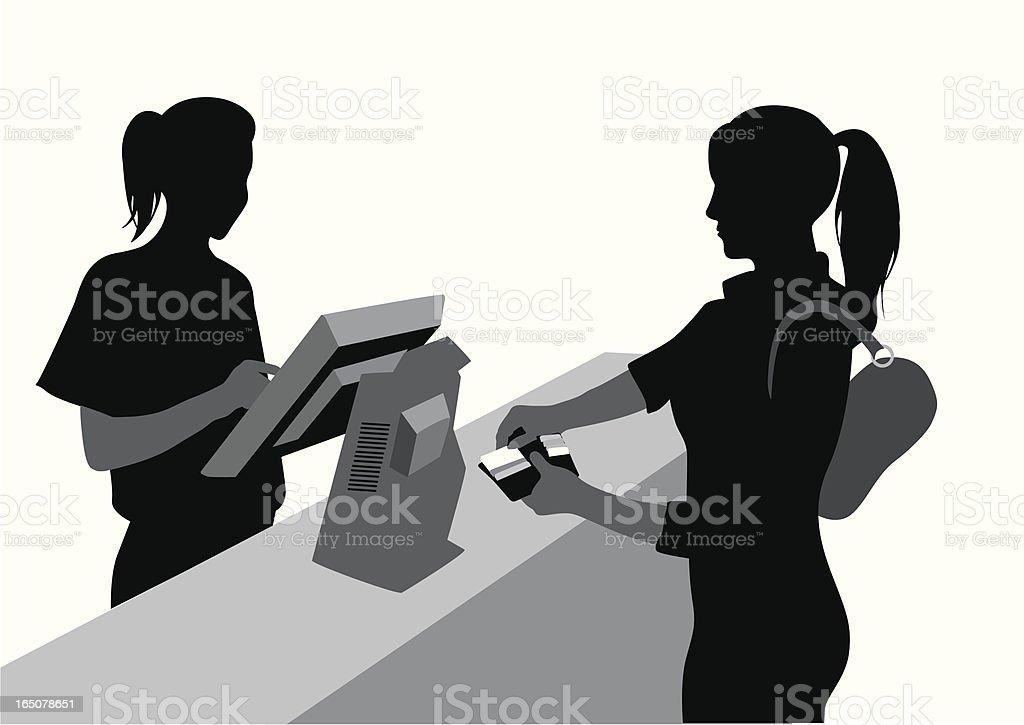 Payment vector art illustration
