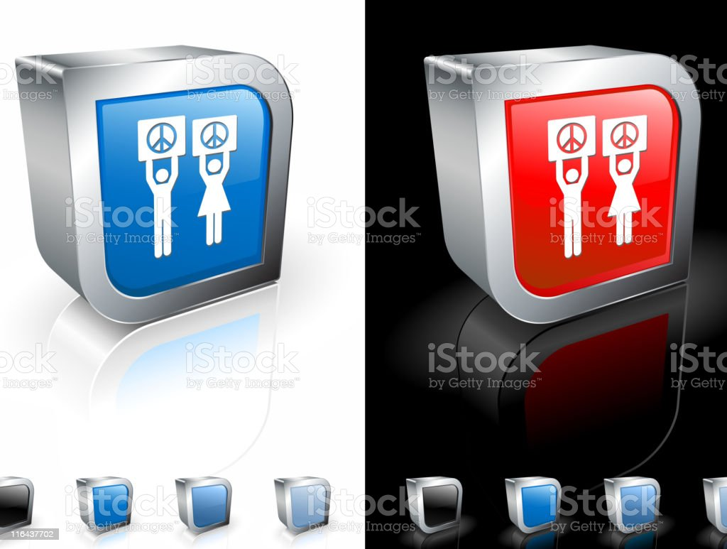 peace demonstration square royalty free vector art royalty-free stock vector art