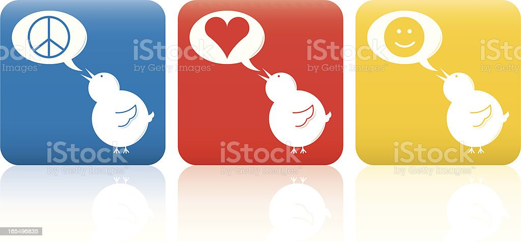 Peace, Love, Joy vector art illustration