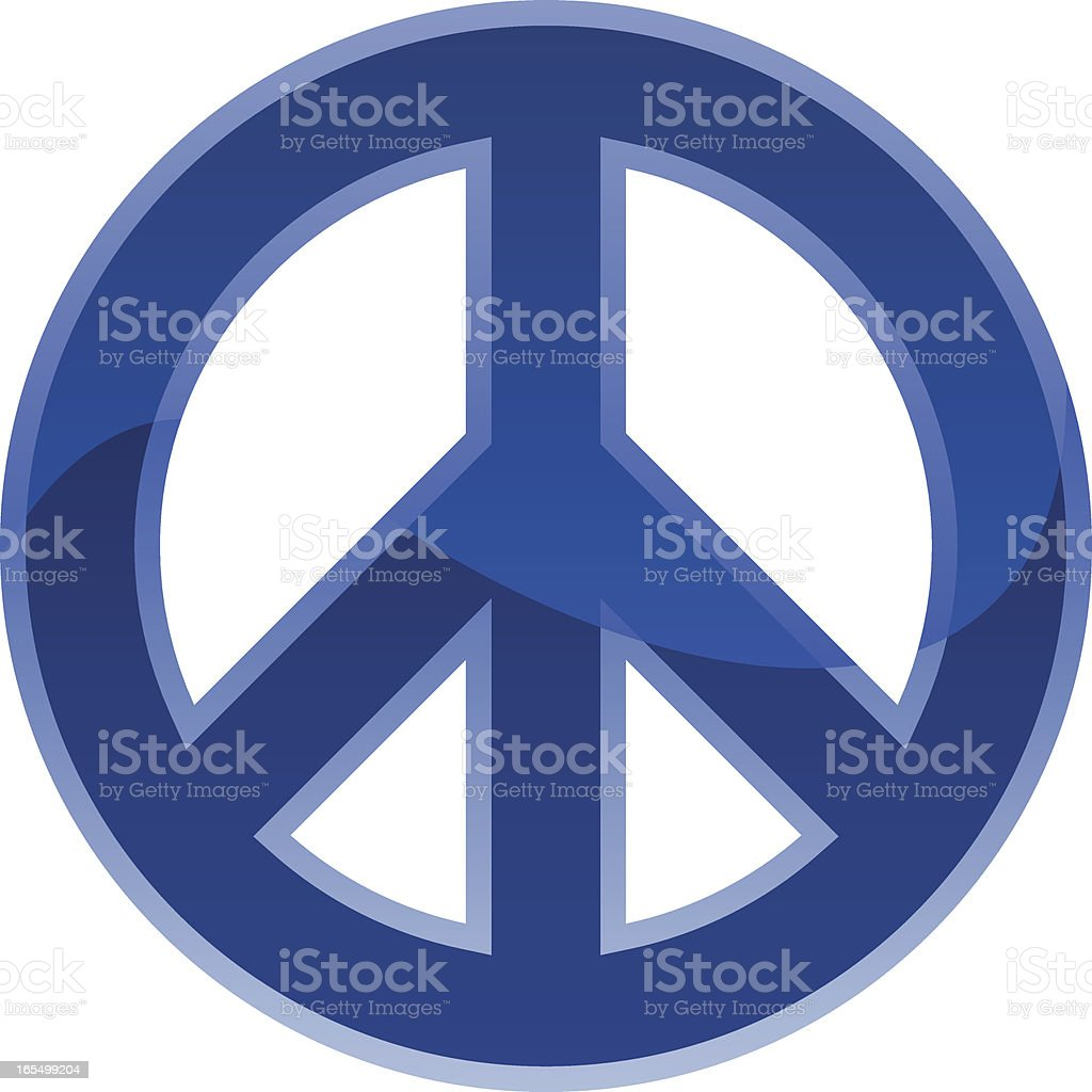 Peace Symbol royalty-free stock vector art