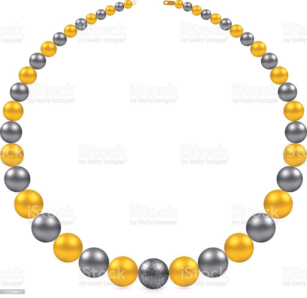 Pearl Jewelry vector art illustration
