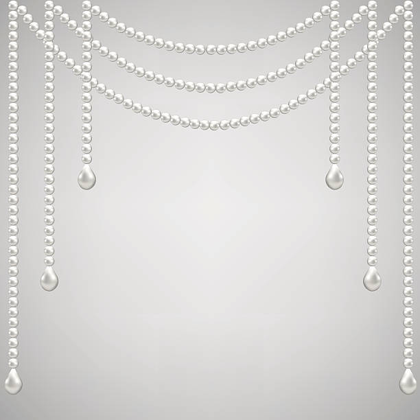 Pearl Jewelry Clip Art, Vector Images & Illustrations - iStock