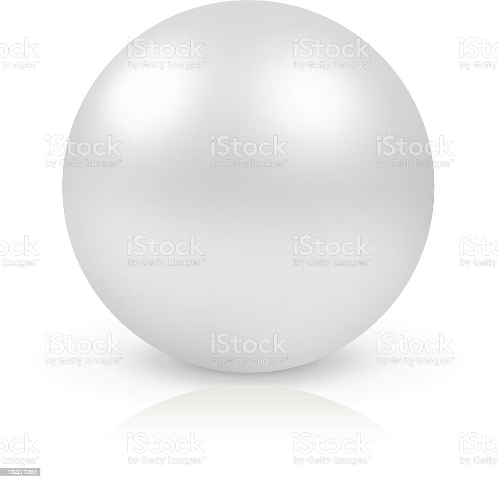 Pearl royalty-free stock vector art