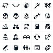 Pediatric Dentistry Icons