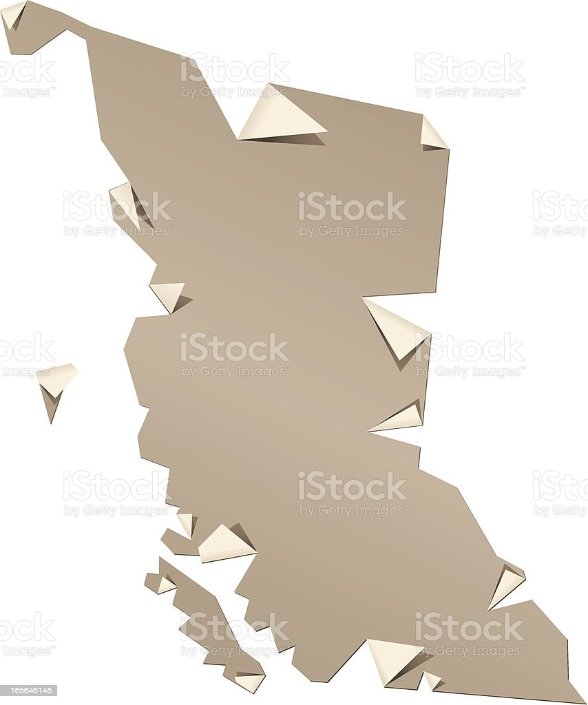 BC Peel royalty-free stock vector art