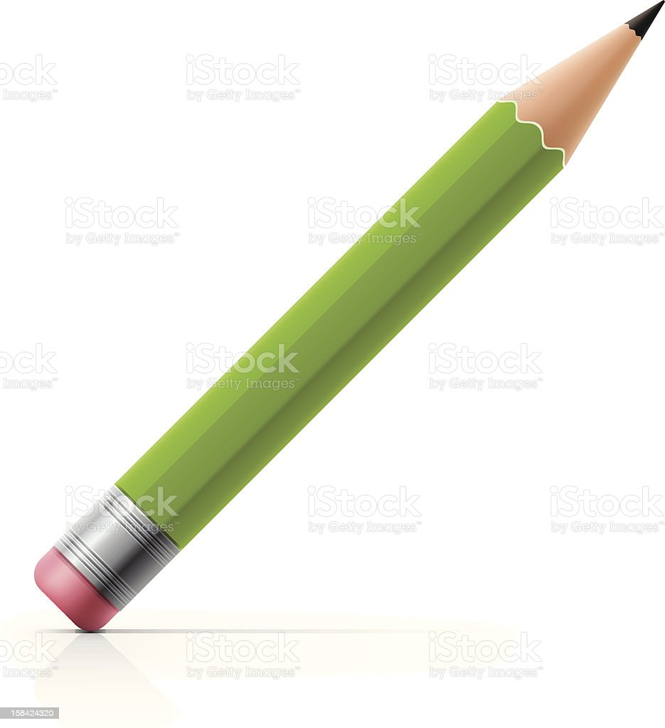 Pencil Icon vector art illustration