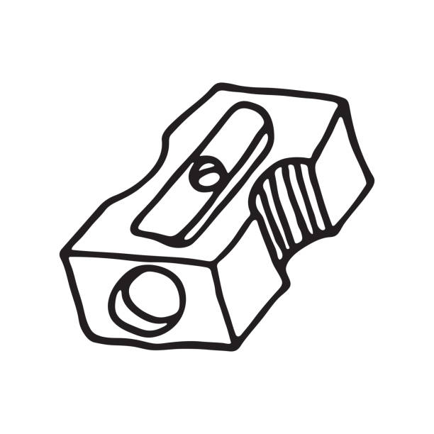 Pencil Sharpener Clip Art, Vector Images & Illustrations