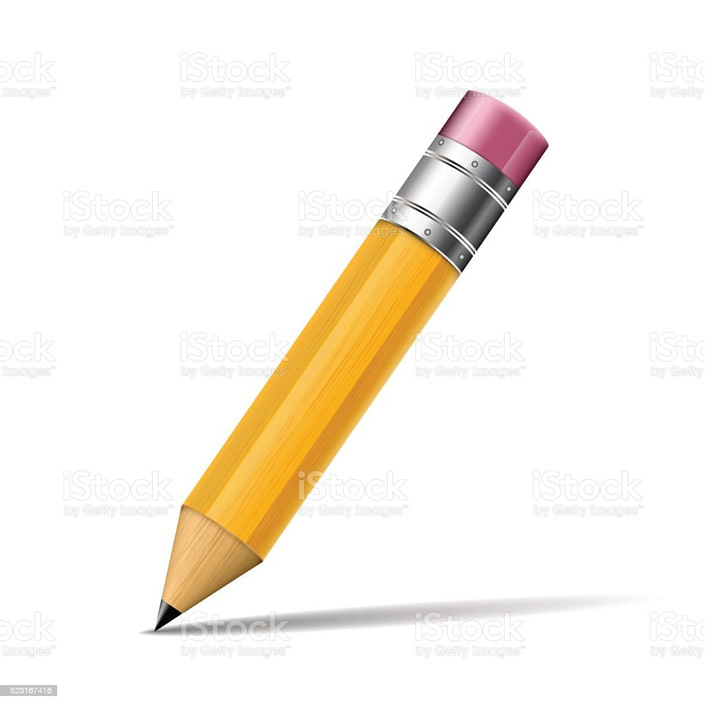 pencil vector illustration vector art illustration