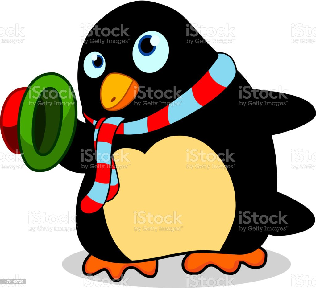Penguin royalty-free stock vector art