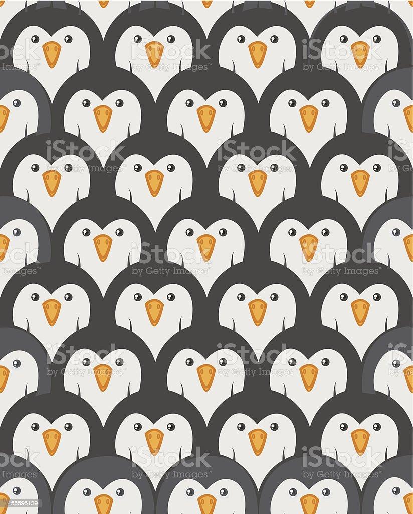Penguins royalty-free stock vector art
