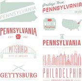 Pennsylvania Typography