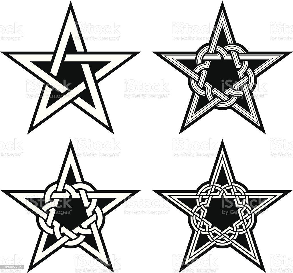 pentacle royalty-free stock vector art