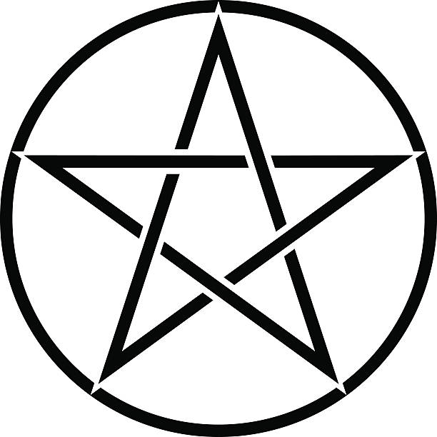 Pentagram Clip Art, Vector Images & Illustrations - iStock