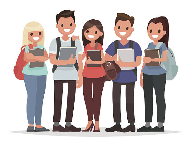 High School Clip Art, Vector Images & Illustrations - iStock