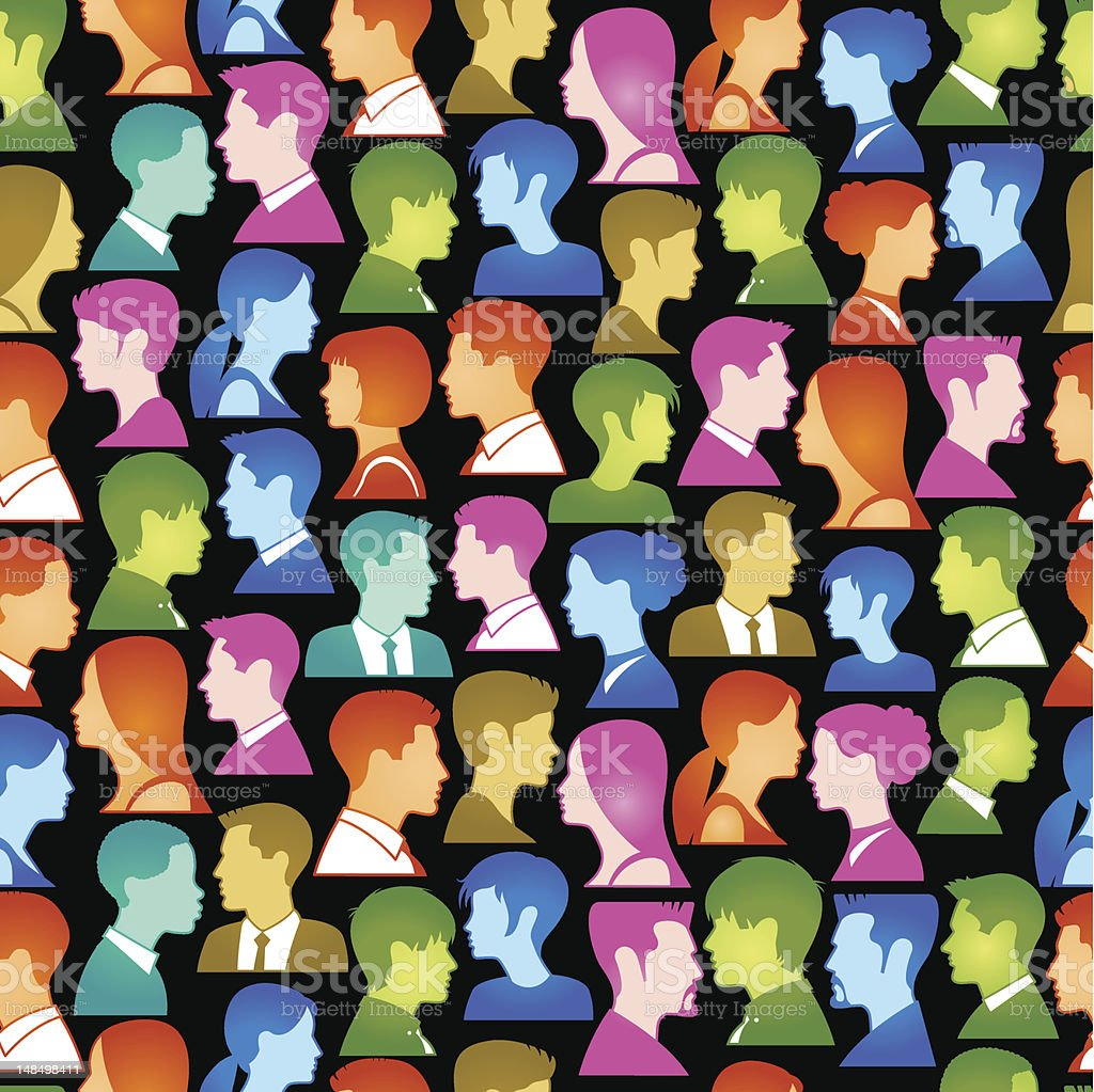 people background royalty-free stock vector art