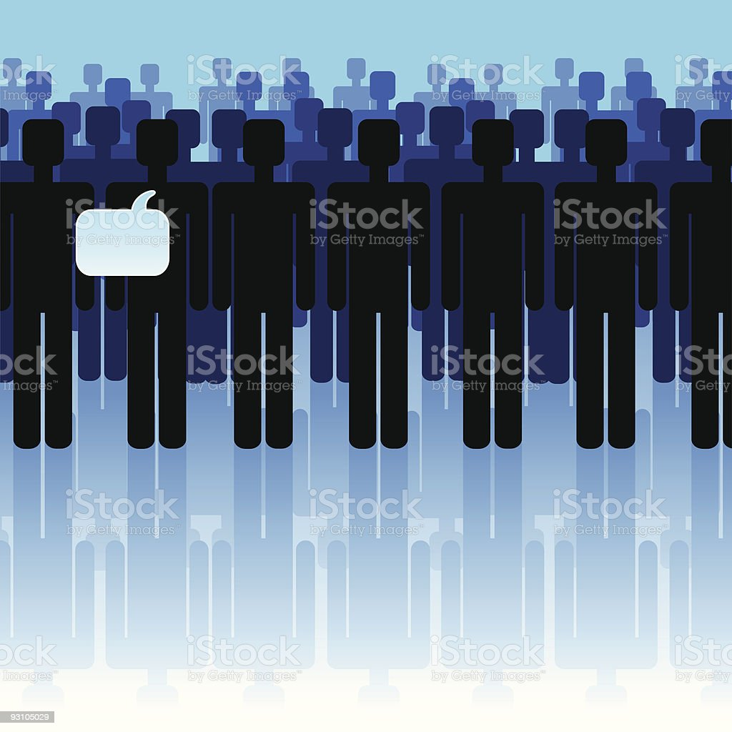 people- communication royalty-free stock vector art