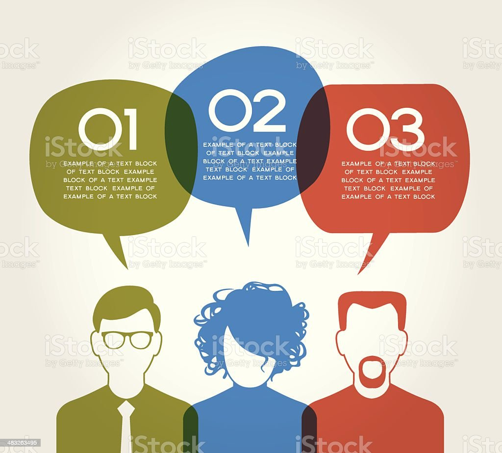 People communication vector royalty-free stock vector art