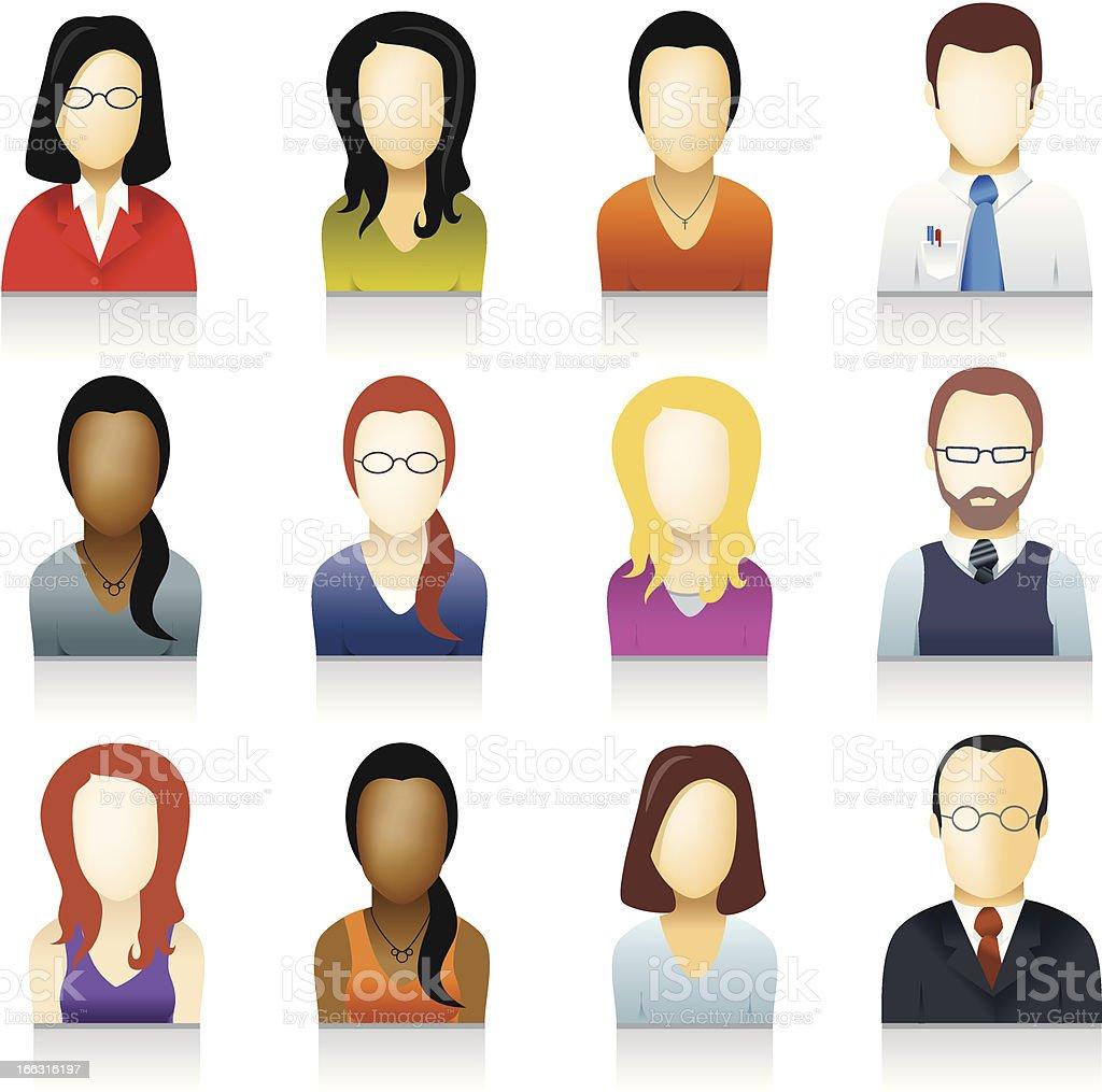 People Icon, Avatar royalty-free stock vector art