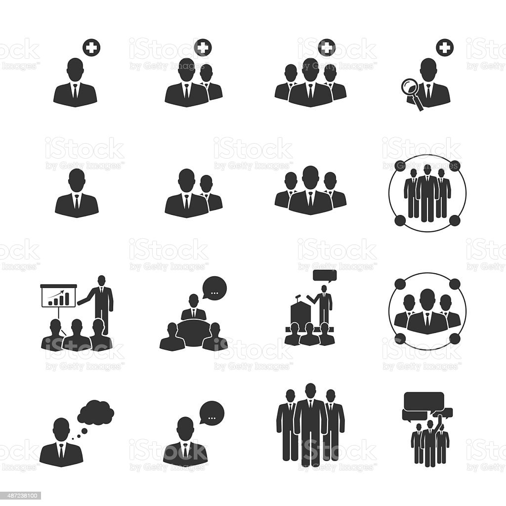 People icons,Vector EPS10. vector art illustration