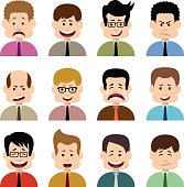 People in emotions