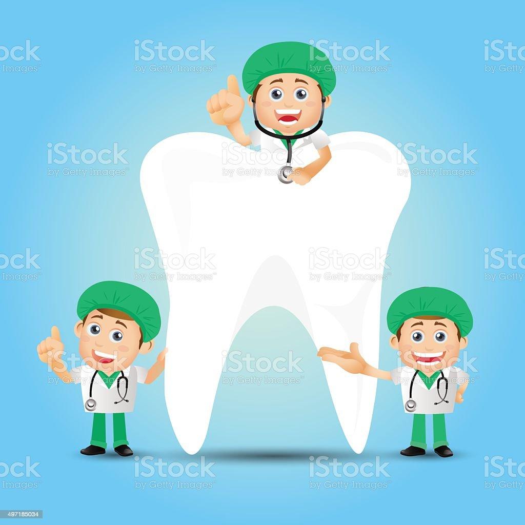 People Set - Profession - Dentist