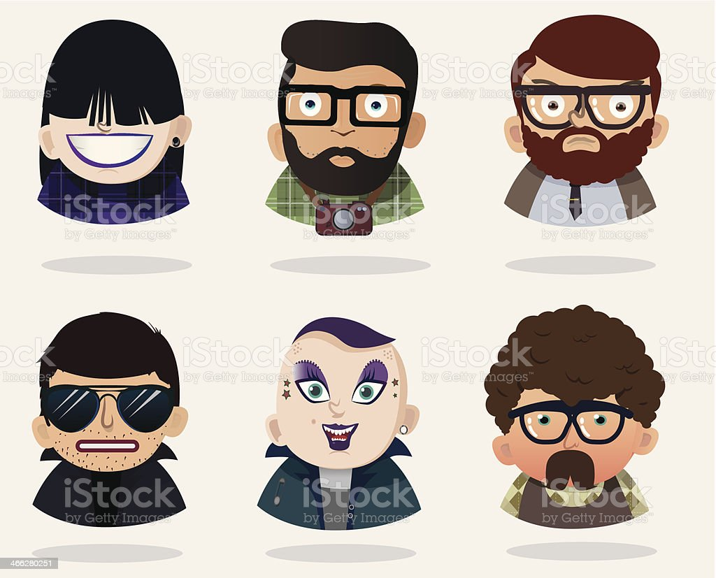 People royalty-free stock vector art