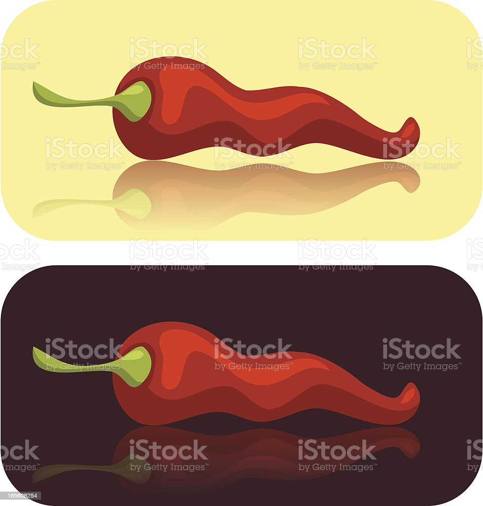 Pepper royalty-free stock vector art
