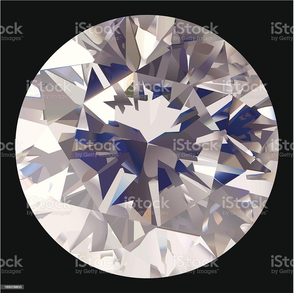 Perfect Diamond - VECTOR royalty-free stock vector art