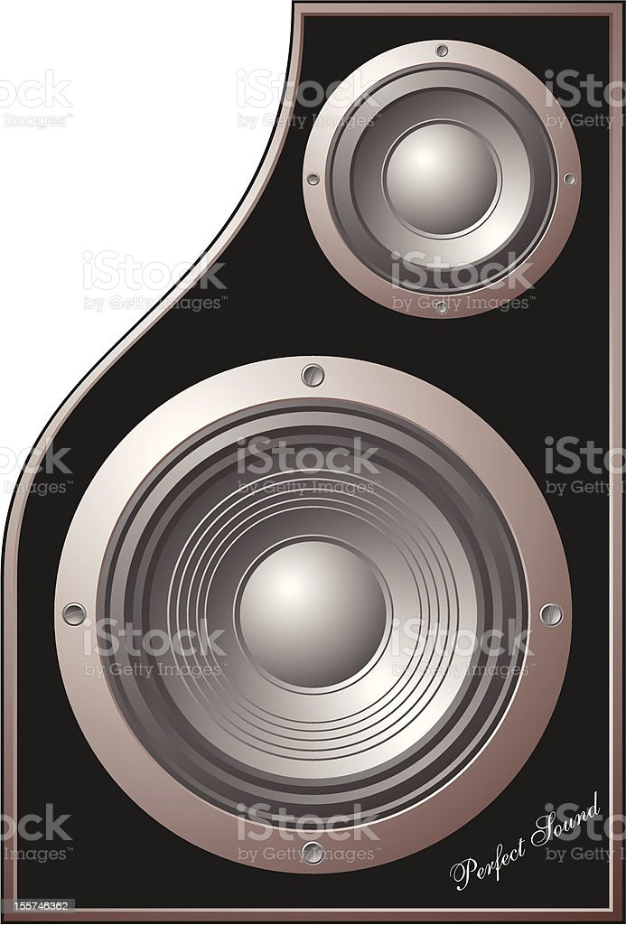 perfect sound royalty-free stock vector art
