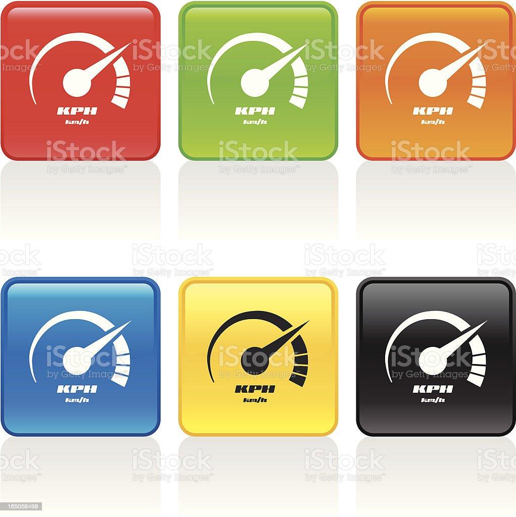 Performance Icon royalty-free stock vector art