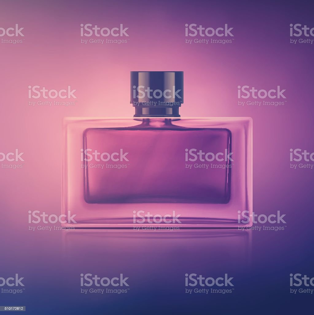 Perfume Boottle vector art illustration