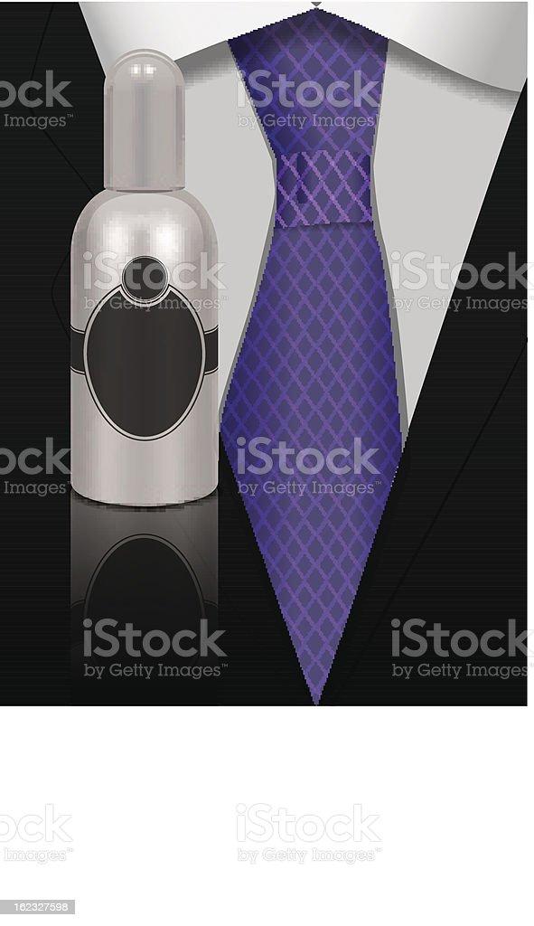 perfume for men royalty-free stock vector art
